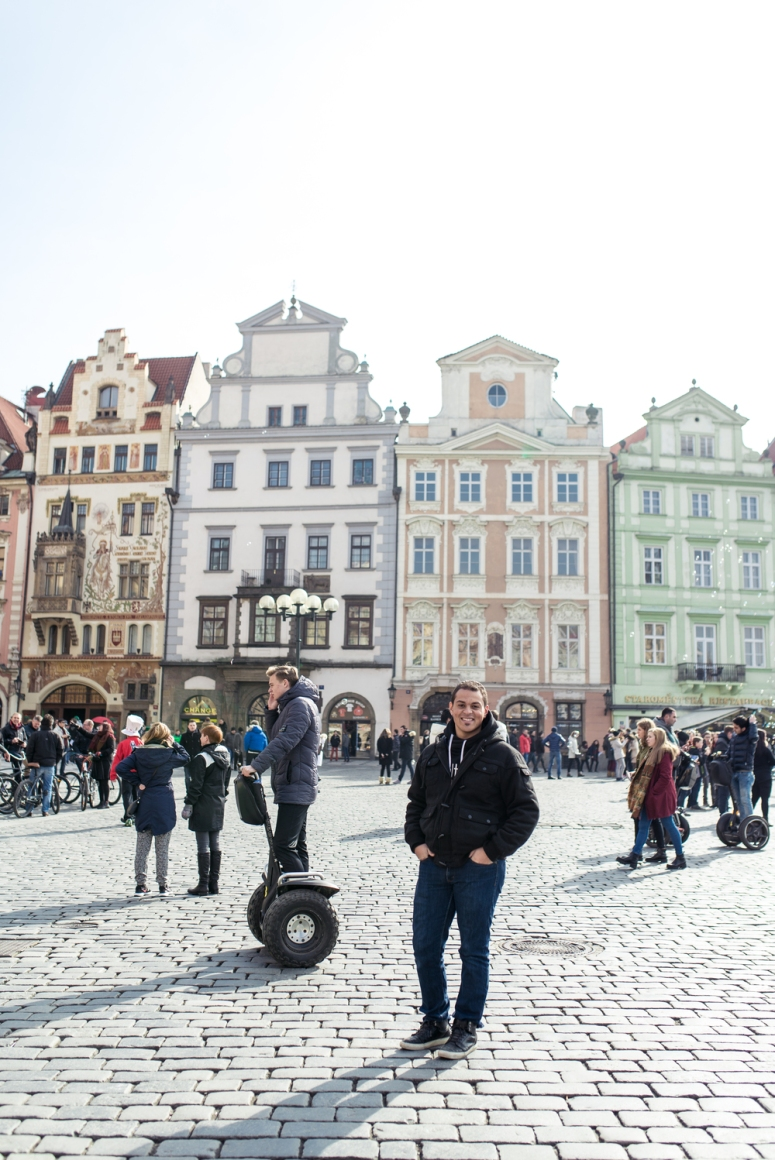 When walking in the Square, you are constantly approached by tour operators on segways hoping to coax you to take a free ride on the segway and then purchase a tour package. After all our walking, it was definitely tempting!
